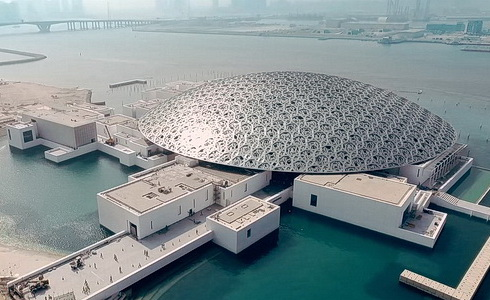Louvre v Abu Dhabi
