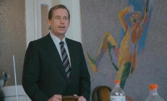 Občan Havel: Kandidát