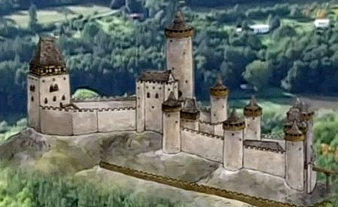 Štíty království českého - Hrady dobyté