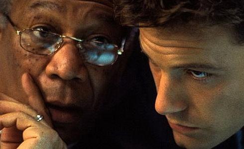 Morgan Freeman a Ben Affleck (Nejhorší obavy)