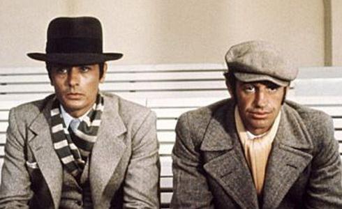 Alain Delon a Jean-Paul Belmondo (Borsalino)