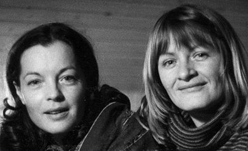 Romy Schneider a Alice Schwarzer