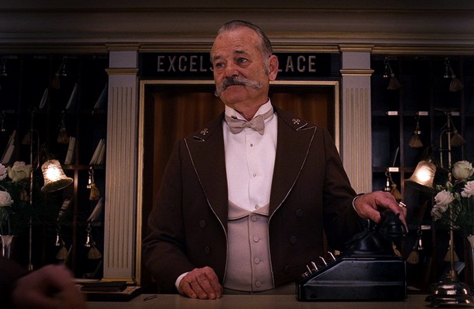 Bill Murray ve filmu Grandhotel Budapešť