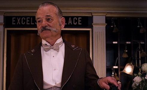 Bill Murray ve filmu Grandhotel Budapešť