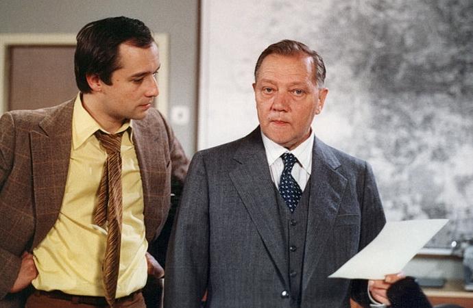 Viktor Preiss a Rudolf Hrušínský (Příbuzenstvo)
