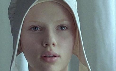 Scarlett Johanssonová (Dívka s perlou)