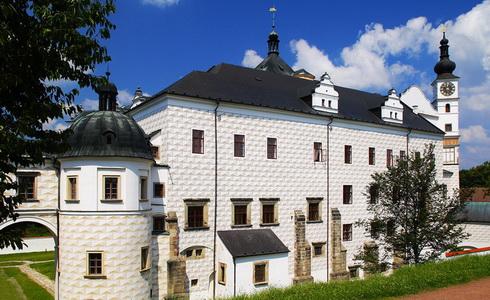 Pardubice, Pernštejnové – stavebníci