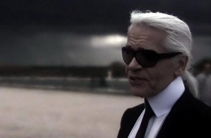Karl Lagerfeld, osamělý král