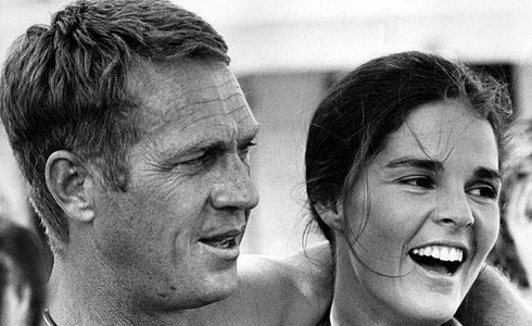 Steve McQueen a Ali MacGrawová