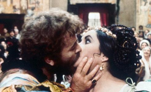 Richard Burton a Elizabeth Taylorová (Zkrocení zlé ženy)