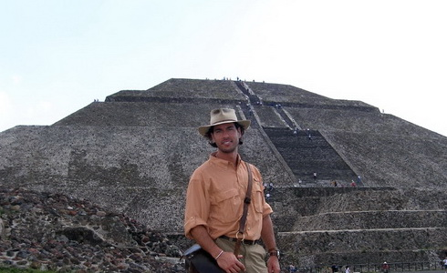 Mexické město Teotihuacan