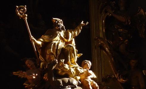 Interi�r Kostela sv. Jilj� v Praze