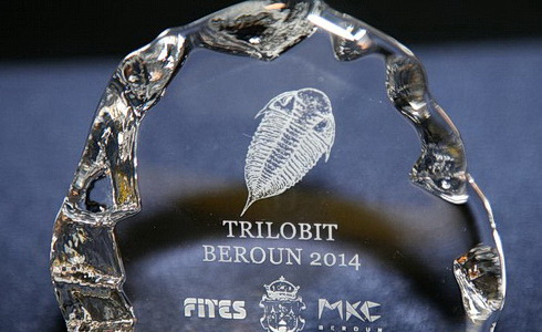 Trilobit Beroun 2014 trofej (Foto: L�ba Taylor)