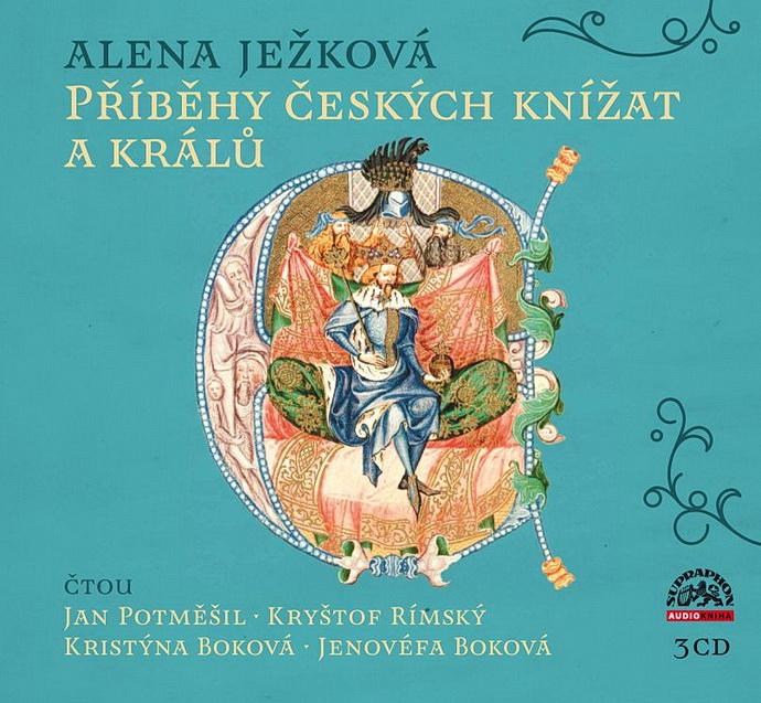 Přebal 3CD Příběhy českých knížat a králů