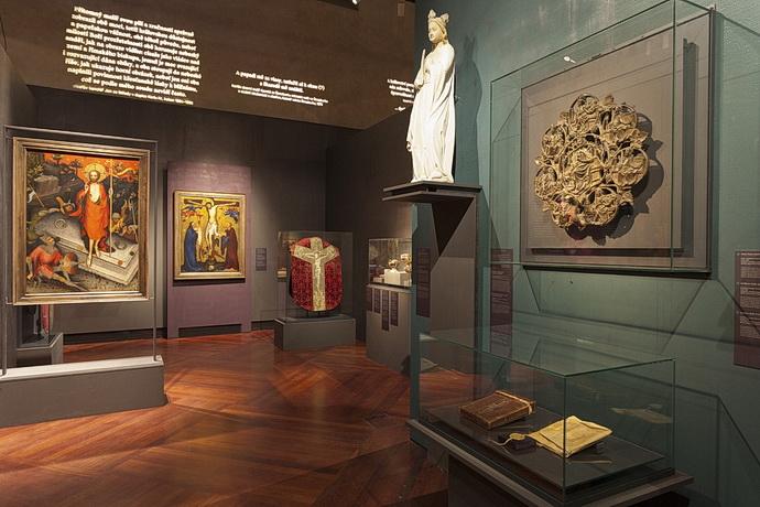 Z výstavy Císař Karel IV. 1316–2016