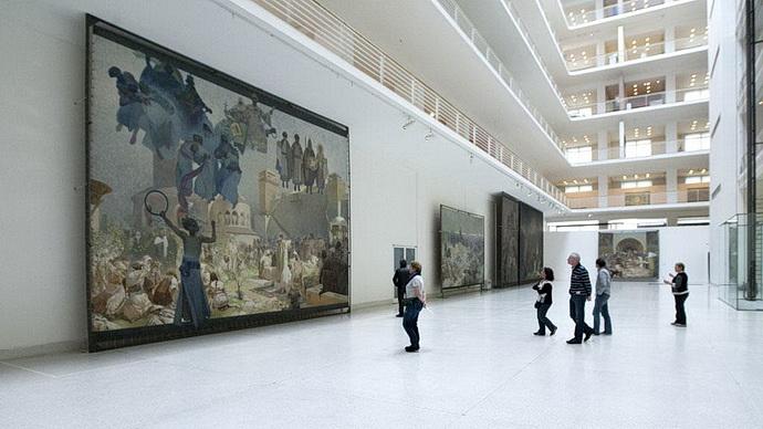 Velká dvorana Veletržního paláce
