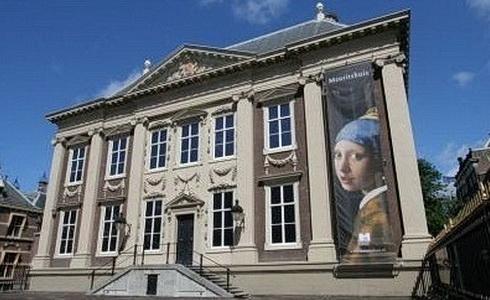 Kr�lovsk� obraz�rna v pal�ci Mauritshuis v Haagu