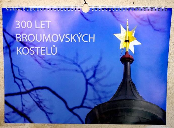 Kalendář o Broumovských kostelích