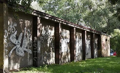 Výklenky zadního traktu Domu umění (Foto: K. Jamrišková)