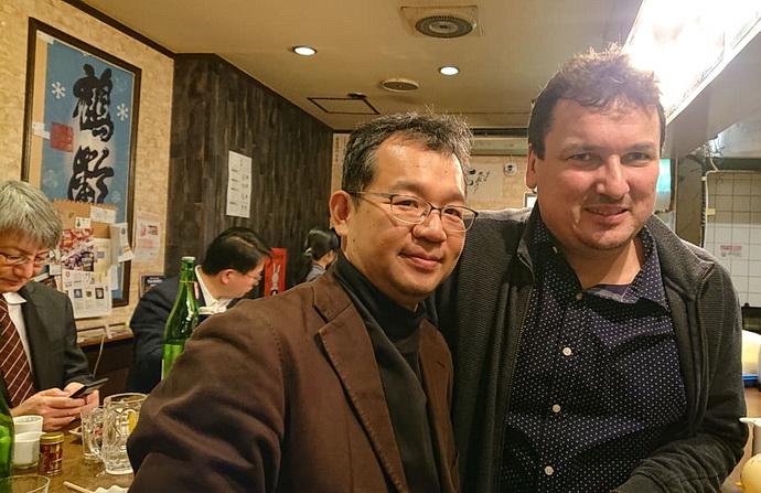 Jakub Češka a Kenichi Abe