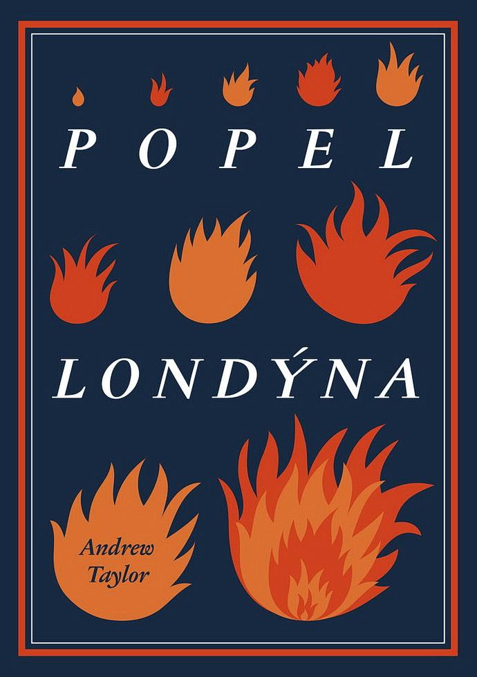 Přebal knihy Popel Londýna