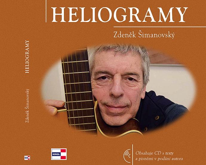 Přebal knihy + CD Heliogramy