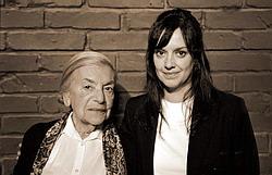 Hosté pořadu Lenka Reinerová a Tereza Brodská
