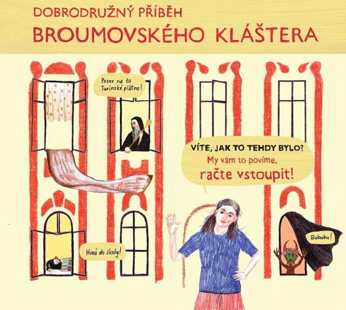 Dobrodružný příběh broumovského kláštera