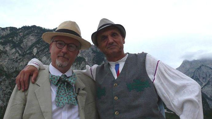 Radovan Lipus a David Vávra