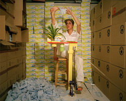 Mika Rottenberg: Felicia from Tropical Breeze (2004)
