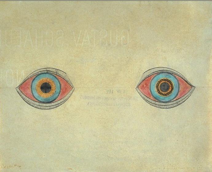 August Natterer, Meine Augen zur Zeit der Erscheinungen