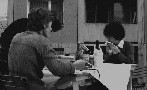 Ján Budaj: Obedy II, Bratislava – sídlisko Karlova Ves, 1979