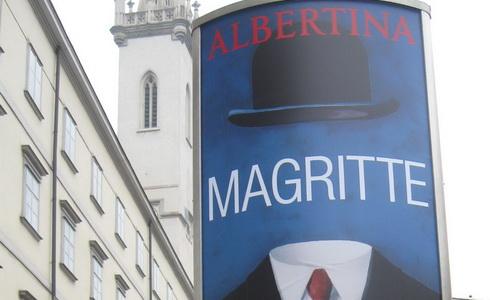 René Magritte ve vídeňské Albertině