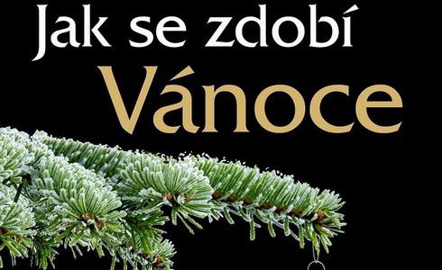 Plakát výstva Jak se zdobí Vánoce