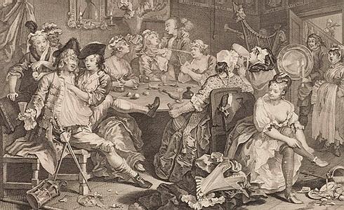 Vzestup zpustlíka III, 1735