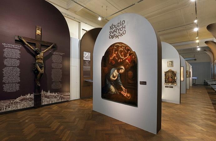 Výstava Kouzlo svatých obrázků