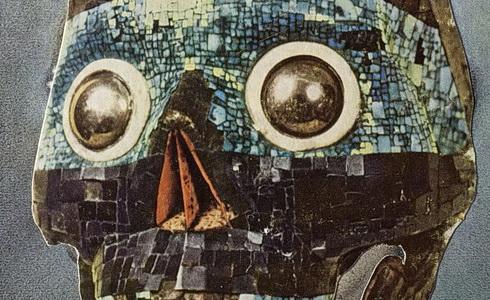 Jiří Kolář, Ilustrace ke knize Mnich 1968 (1961)