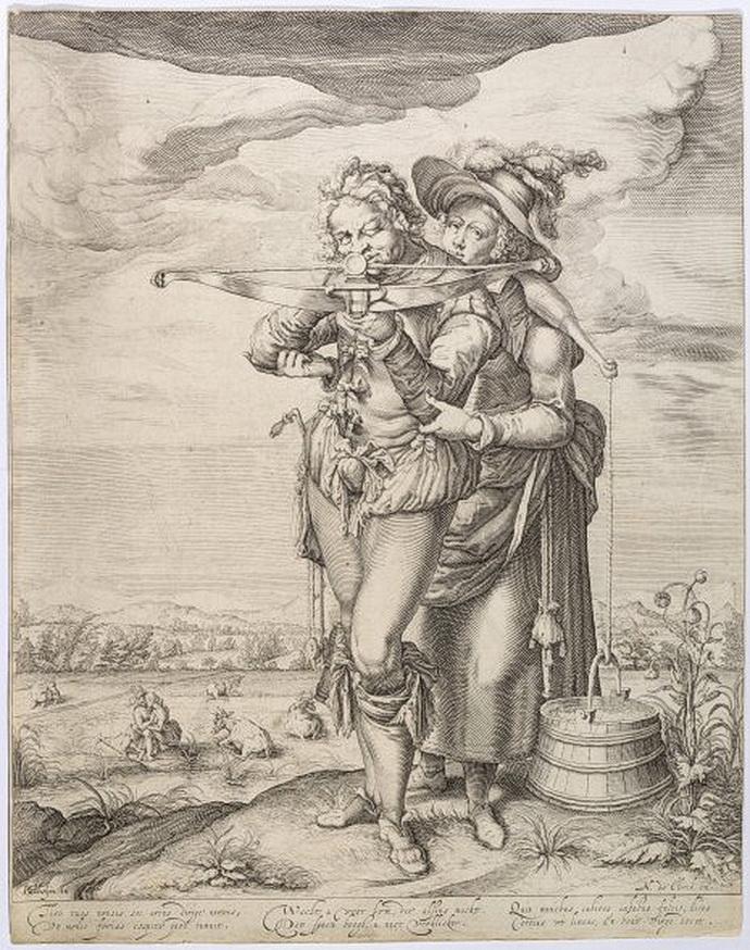 Andreas Stock podle návrhu Jacquese de Gheyna II. Lučištník