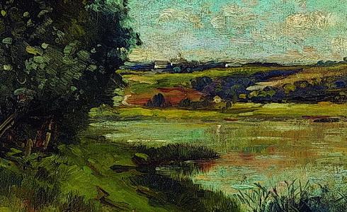 Zdenka Braunerová - Vltava u Klecan