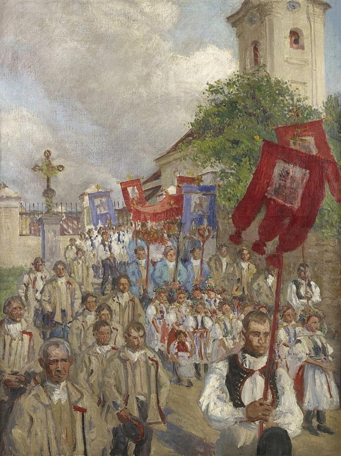 Miloš Jiránek – Boží tělo ve Velké 1903