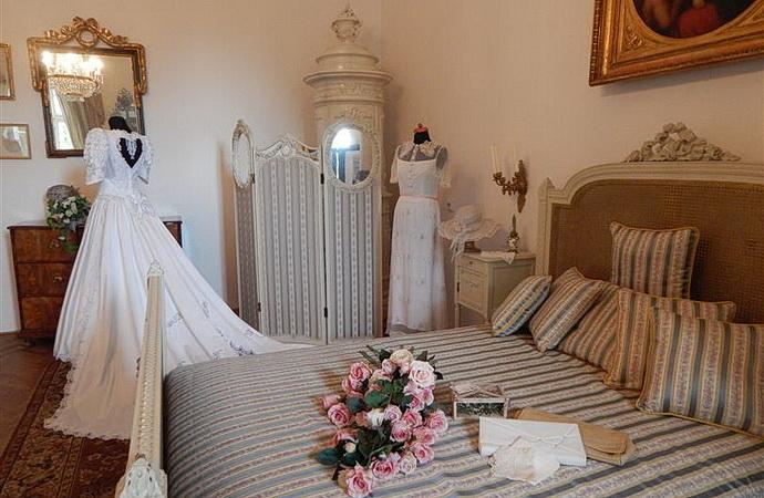 Svatba na zámku Dobříš