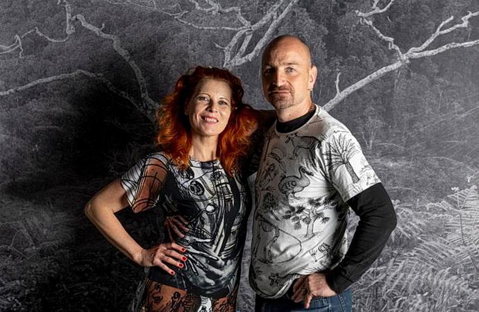 Barbora Šlapetová a Lukáš Rittstein (Foto: Jan Slavík)