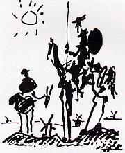 Don Quijote - ilustrace
