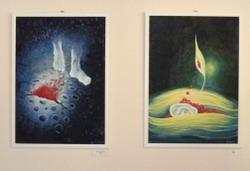 Výstava obrazů Šárky Fremrové