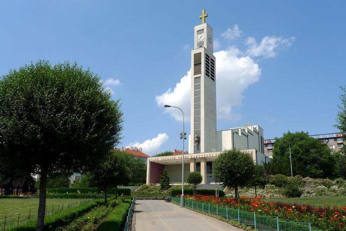 Kostel sv. Václava - Vršovice
