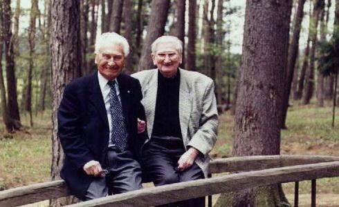 Tom� Ba�a a Jan Pive�ka (Zdroj: www.pivecka.cz)