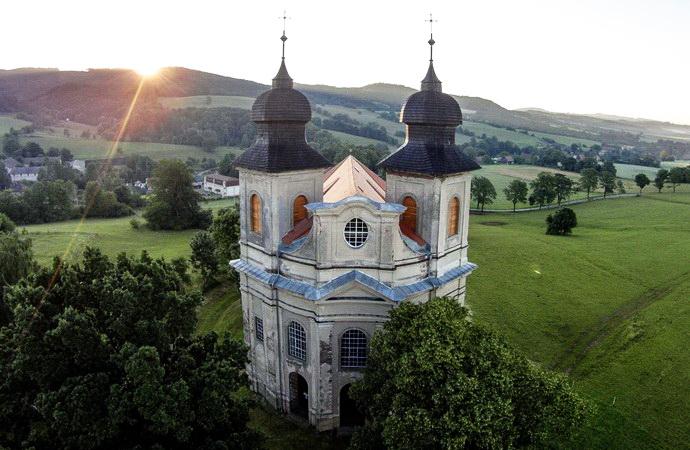 Barokní kostely na Broumovsku (Zdroj: klasterbroumov.cz)