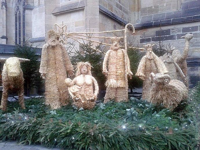 Betlém u Katedrály sv. Víta, Vojtěcha a Václava