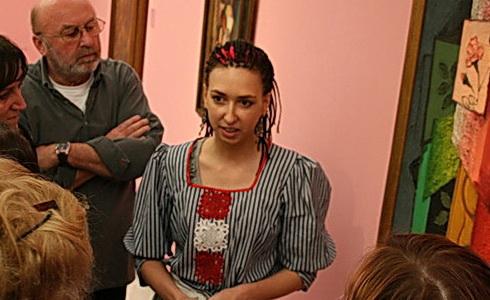 Adéla Karger uprostřed frekventantů kurzu