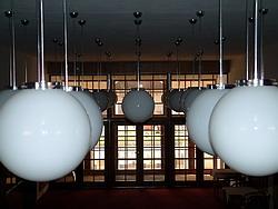 Pohled do foyer Slováckého divadla
